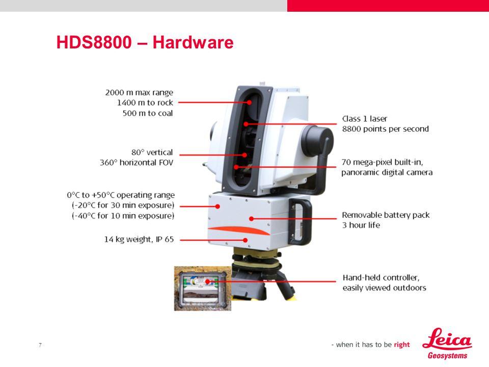 7 HDS8800 – Hardware