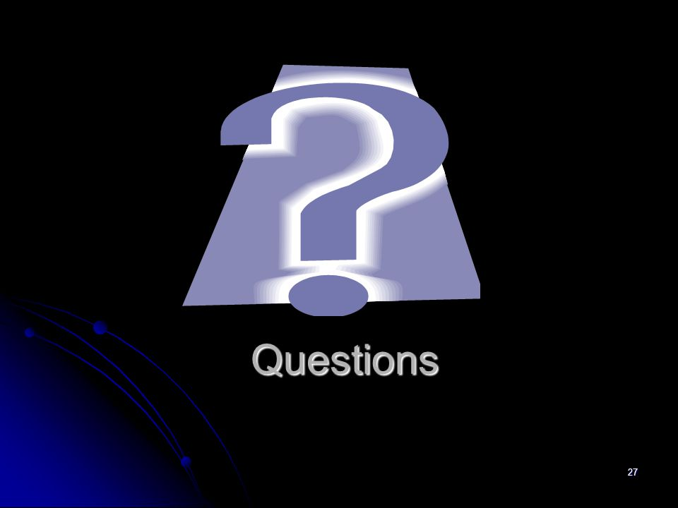 27 Questions