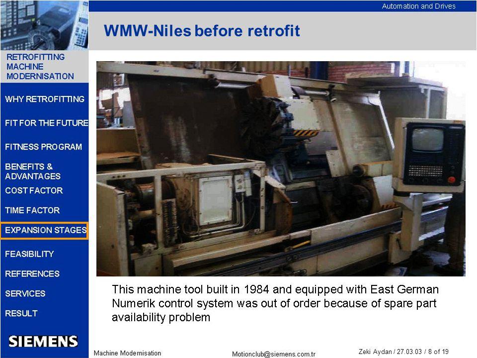 Zeki Aydan / 27.03.03 / 8 of 19 WMW-Niles before retrofit