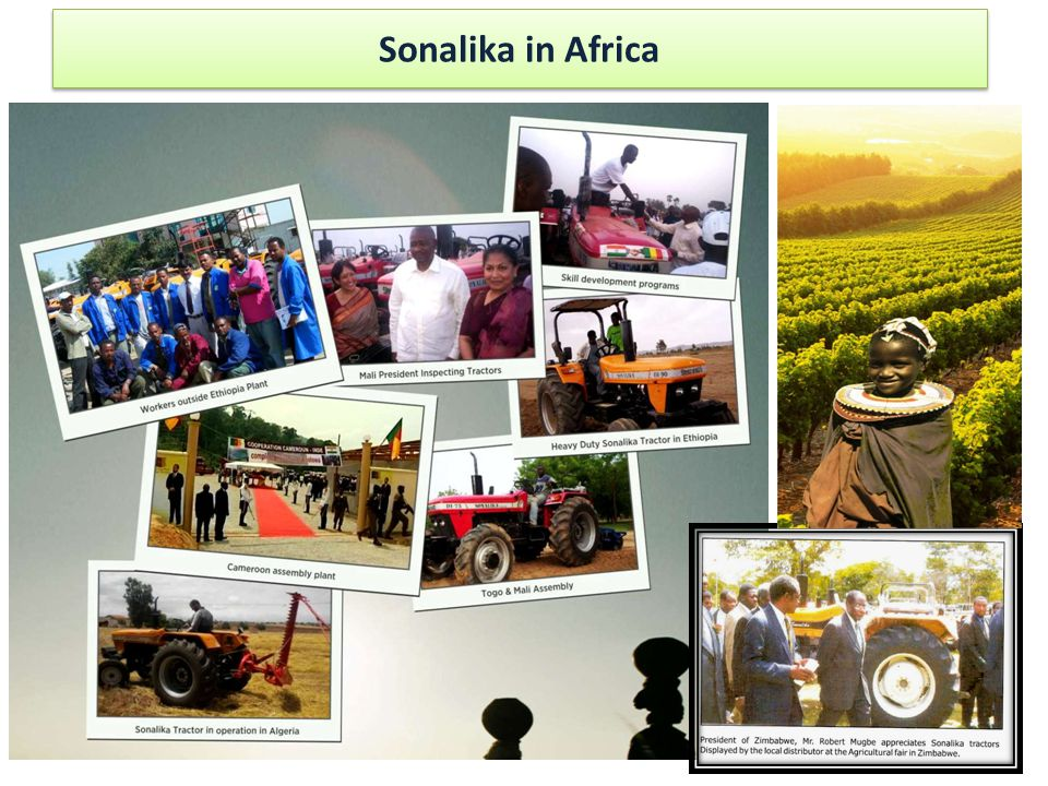 Sonalika in Africa