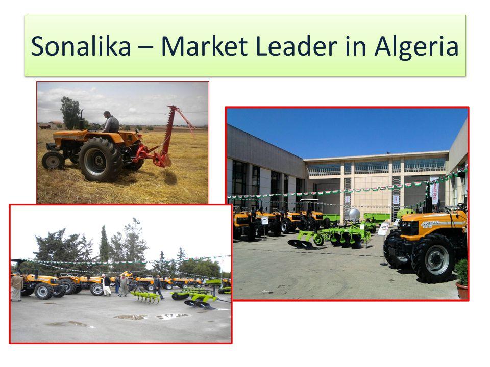 Sonalika – Market Leader in Algeria