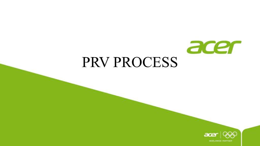 PRV PROCESS