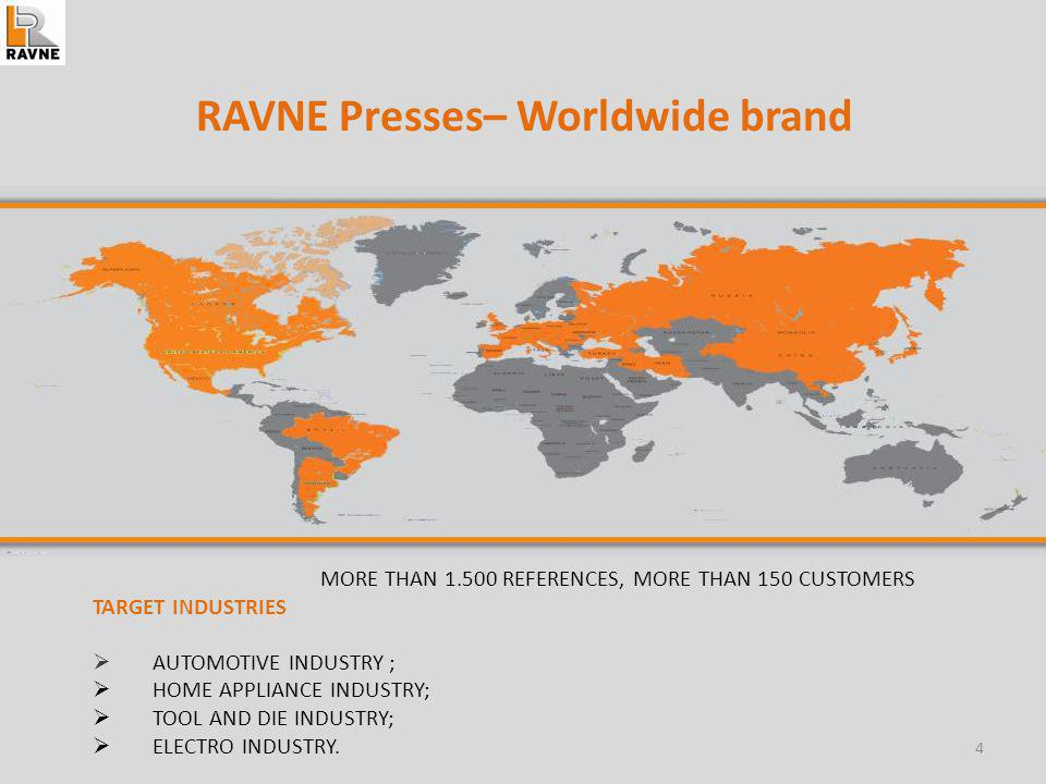 LITOSTROJ RAVNE – ADVANTAGES: Mechanical and Hydraulic Presses up to 40.000 kN and bed width up to 8 m.