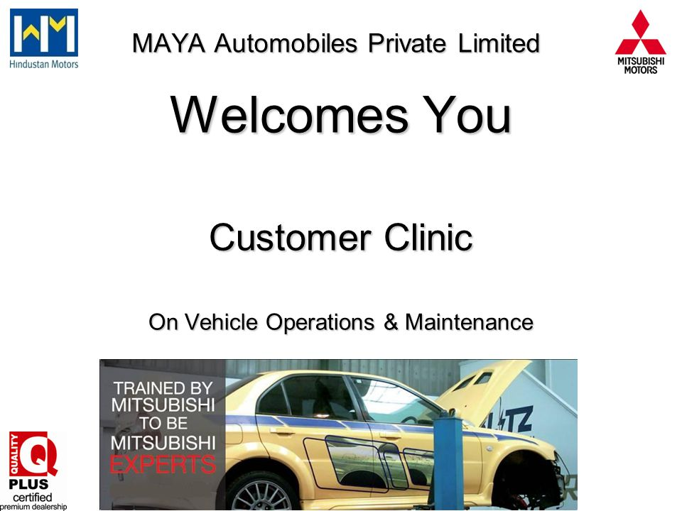Dealers Service centre - Advantages The Service station is equipped as per global standards.
