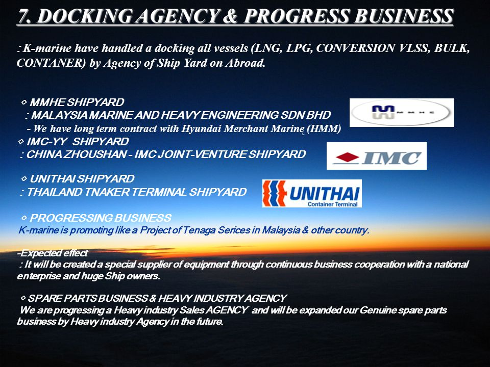 6. MMHE-MS. LNG SDN.BHD AGENCY 6. MMHE-MS. LNG SDN.BHD AGENCY MMHE : MALAYSUA MARINE AND HEAVY ENGINEERING SDN BHD THIS IS JOINING PROJECT BETWEEN SAM