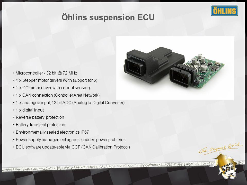 Öhlins Racing BM 670 ESA replacement system.