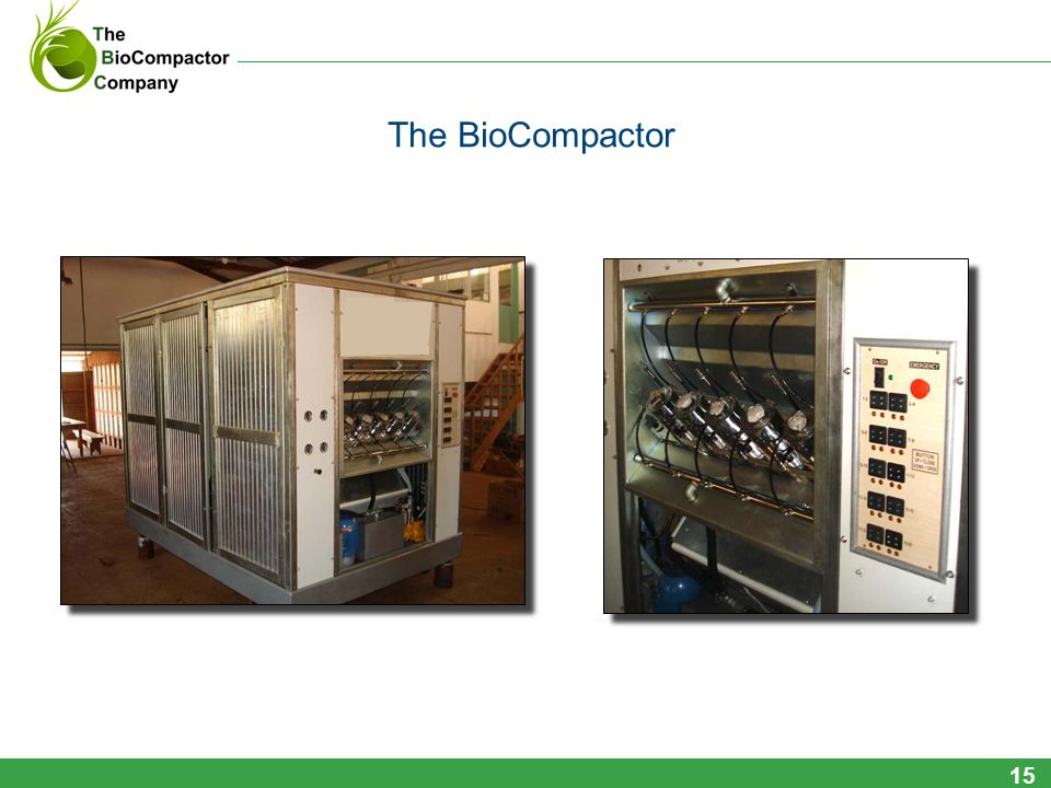 The BioCompactor 15
