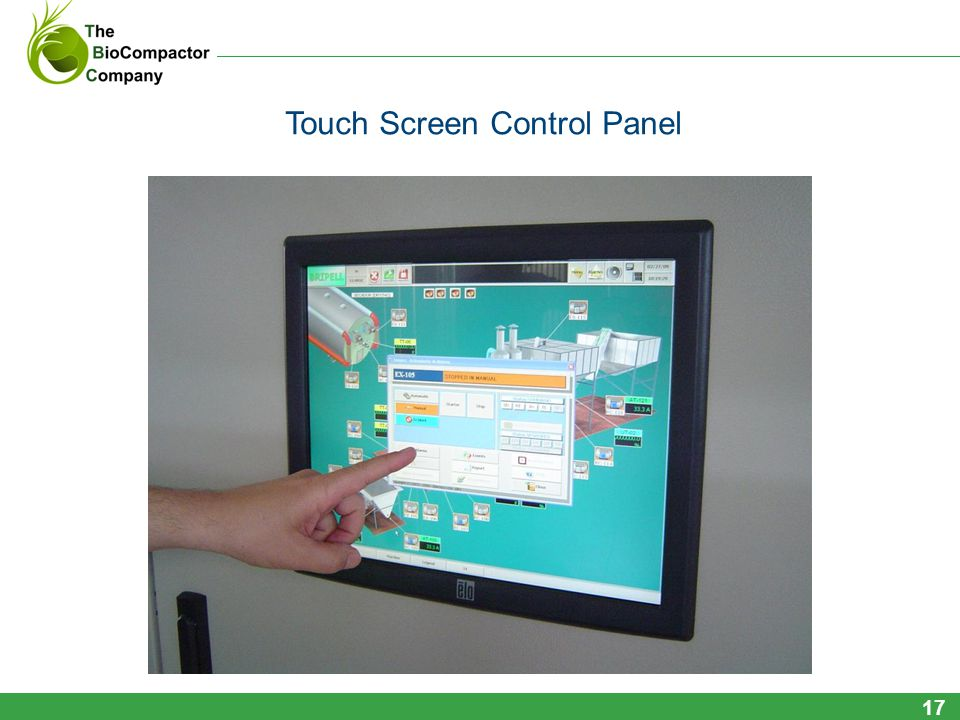 Touch Screen Control Panel 17