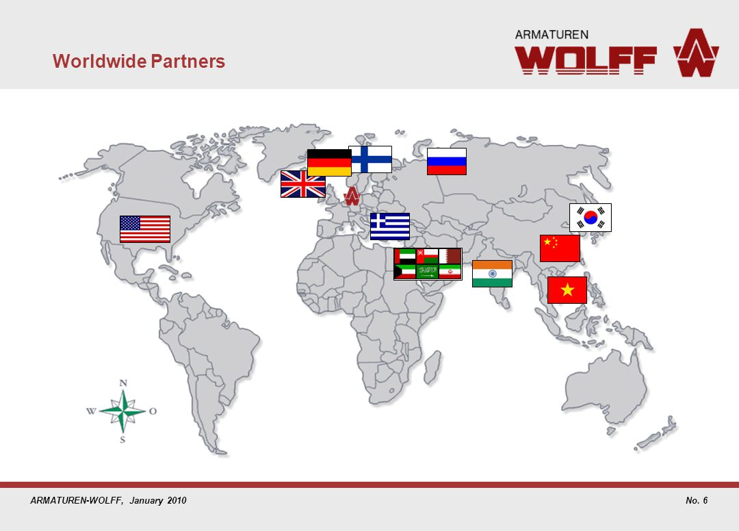 ARMATUREN-WOLFF, January 2010 Worldwide Partners No. 6