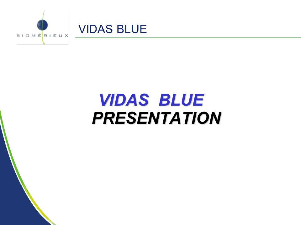 VIDAS BLUE VIDAS BLUE PRESENTATION