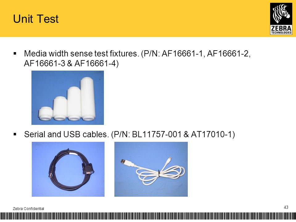 Unit Test Media width sense test fixtures.