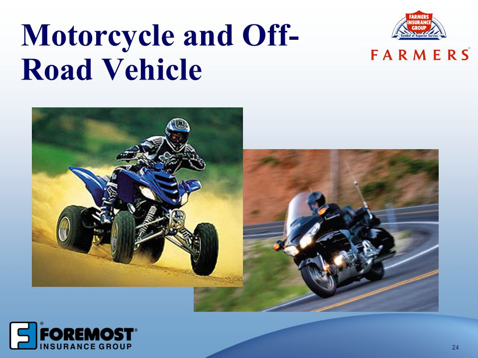 Motorcycle and Off- Road Vehicle 24