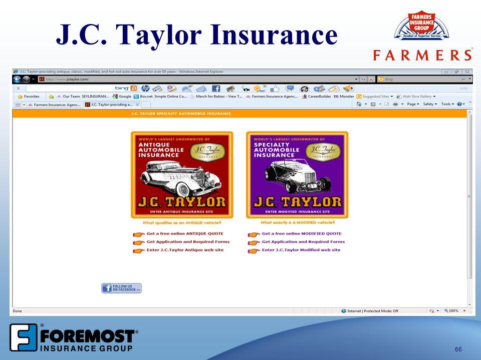 J.C. Taylor Insurance 66