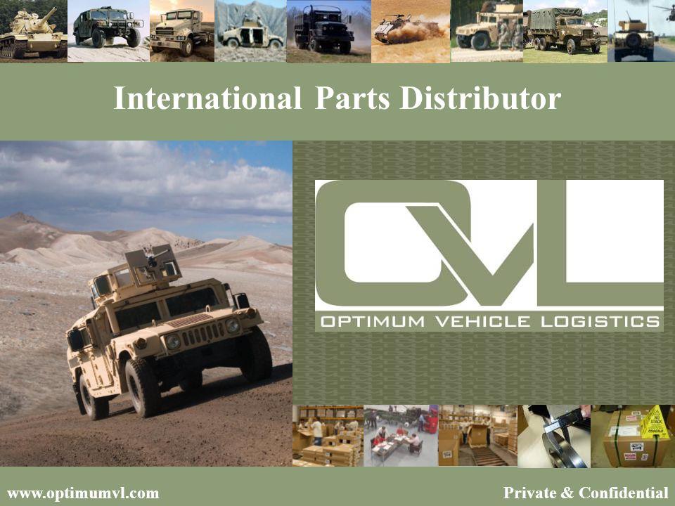 Private & Confidentialwww.optimumvl.com International Parts Distributor