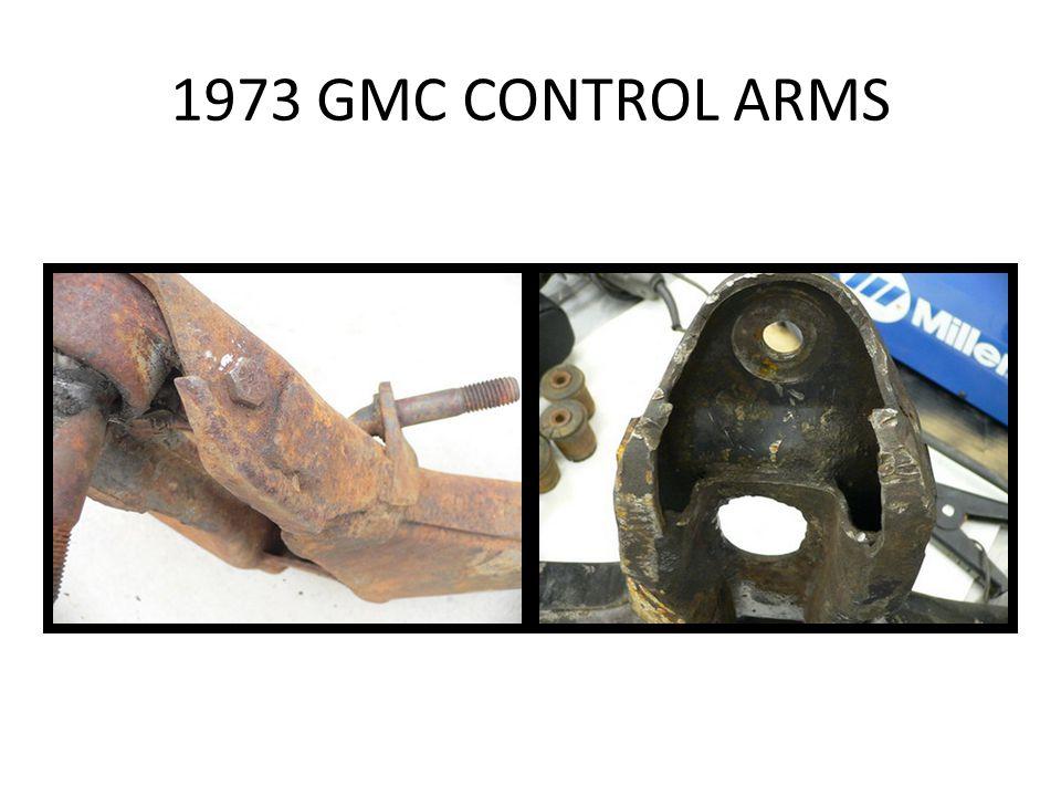 1973 GMC CONTROL ARMS