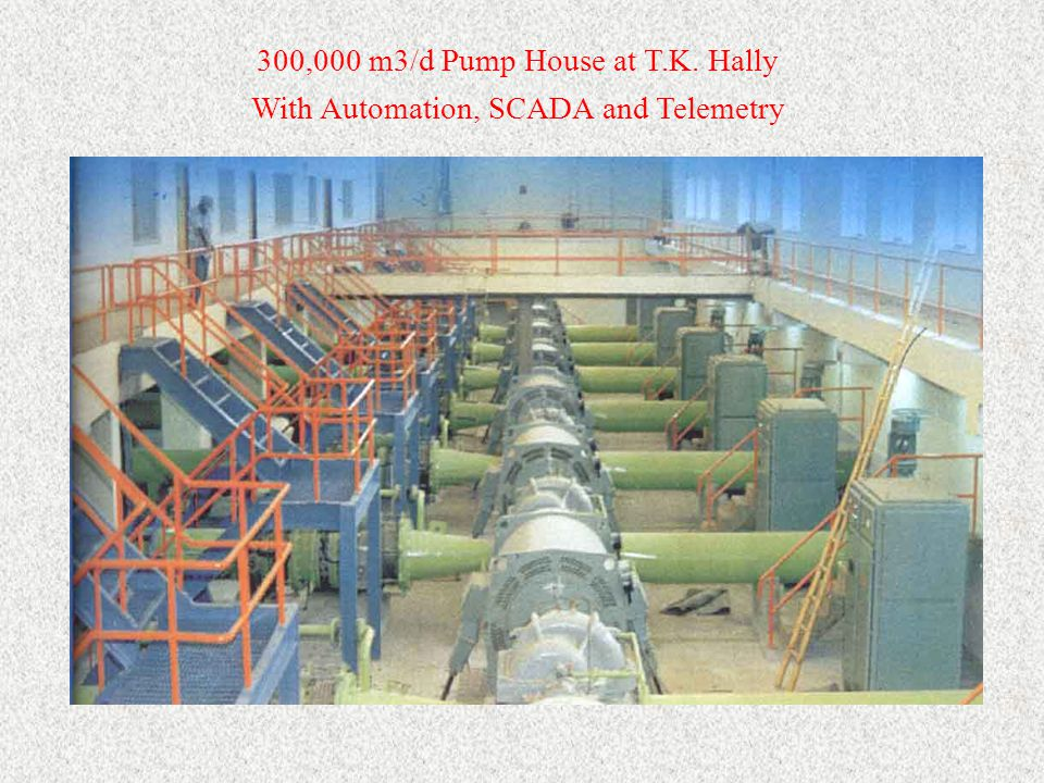 300,000 m3/d Pump House at T.K. Hally With Automation, SCADA and Telemetry