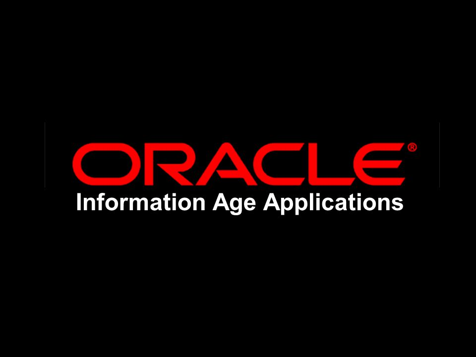 Information Age Applications