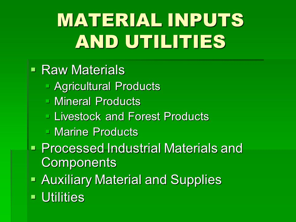 PRODUCT MIX Based on Market Requirements Based on Market Requirements Variations in; Variations in; Size Size Quality Quality