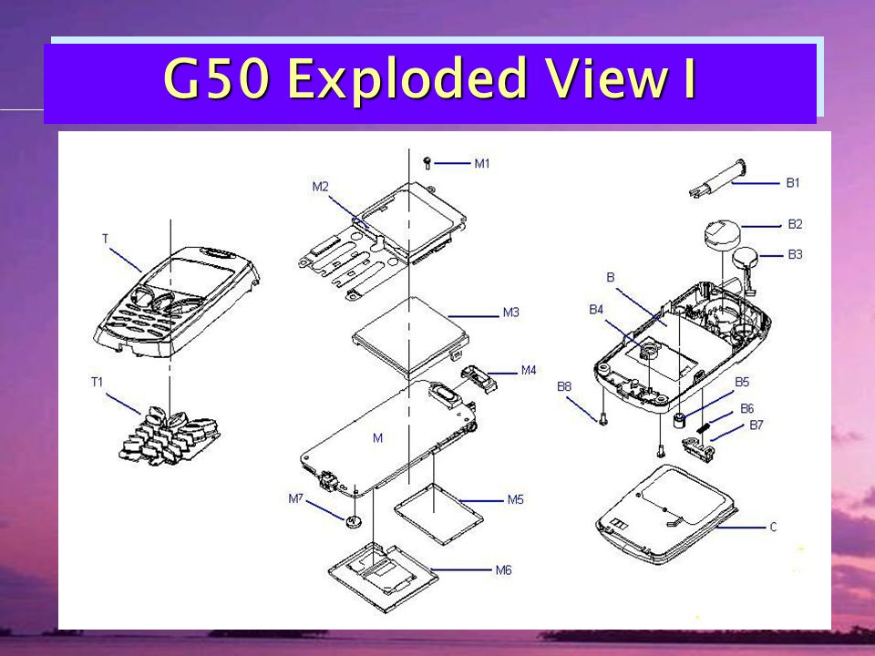 G50 Exploded View I