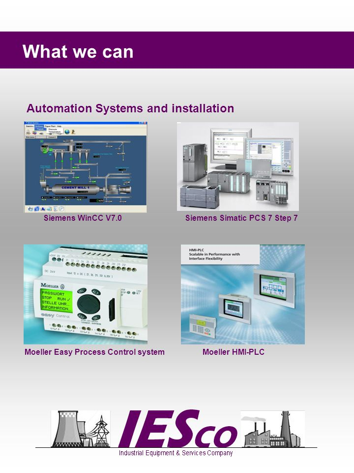 What we can Automation Systems and installation DELTA Process Control system DELTA Hardware Electrical Hardware and electrical boards installation Electrical Distribution Boards
