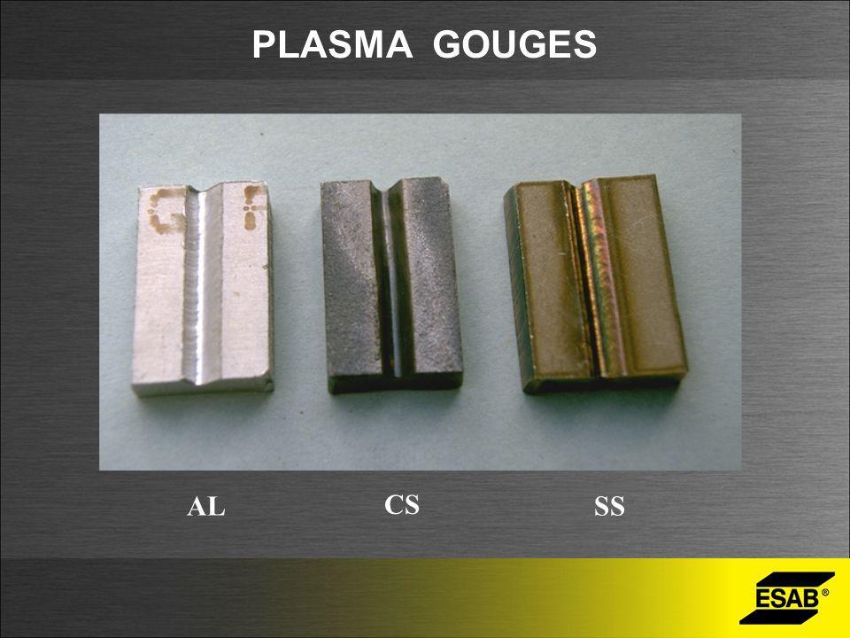 PLASMA GOUGES AL CS SS