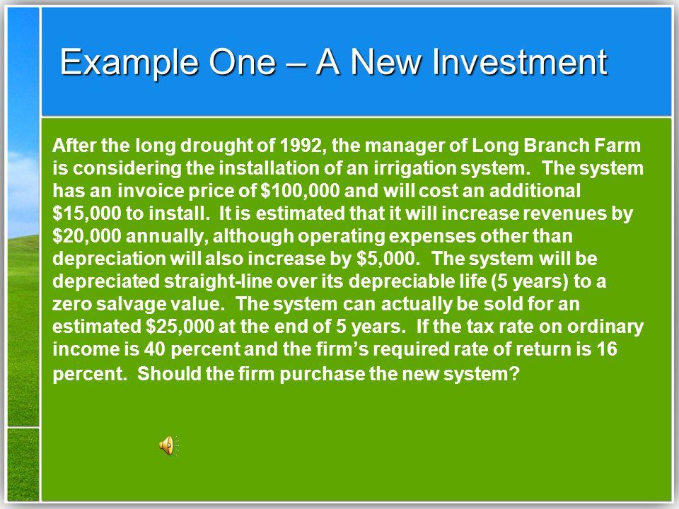 Lucent / Toshiba - 3 Lucent: CF 0 = -$54,000 CF 1-9 = -$4,000 NPV = -$77,981EAA/EAC = -$13,007 Toshiba:CF0 = -$48,000 CF1-7 = -$4,000 NPV = -$68,132EAA/EAC = -$13,537