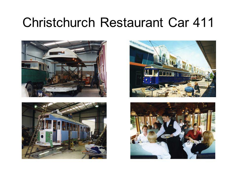 Christchurch Restaurant Car 411