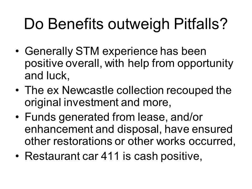 Do Benefits outweigh Pitfalls.