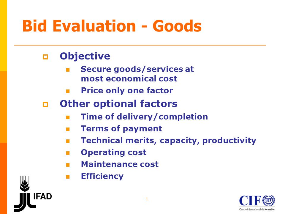 2 Evaluation Methodology Commercial Features Price Adjust basic price for features, options, etc.