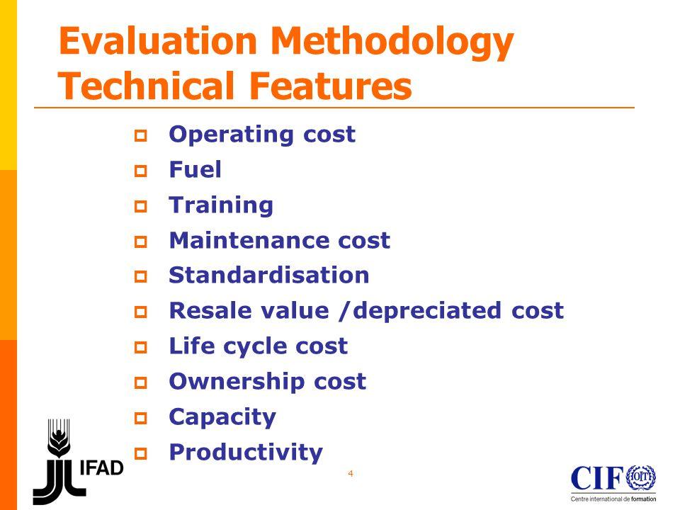 5 Evaluation Methodology Minimum Technical Specifications PASS/FAIL CRITERIA Minimum requirement Below minimum: rejected Responsive = evaluated Maximum requirement Range parameters (MAX <>min)