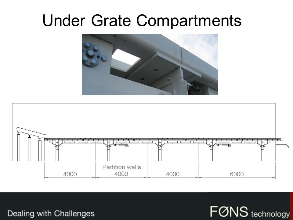 Under Grate Compartments