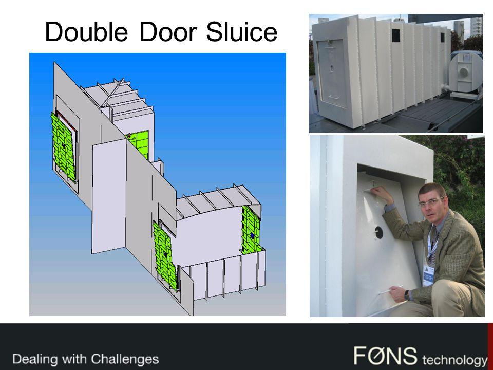 Double Door Sluice