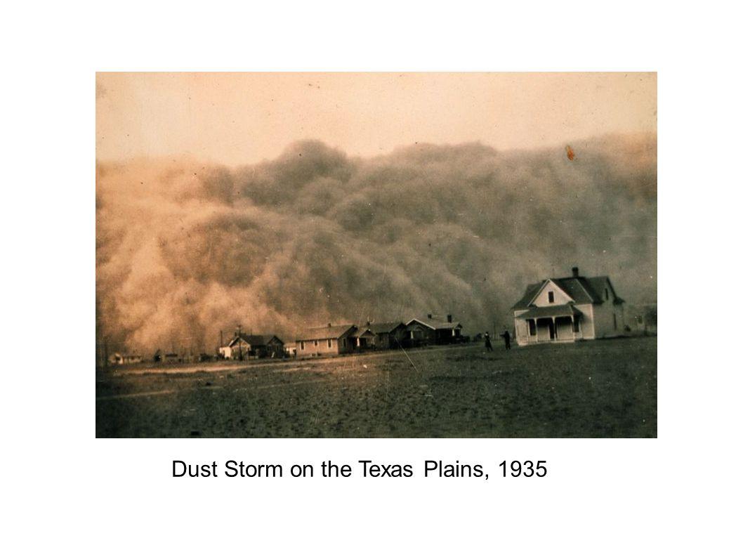 Dust Storm on the Texas Plains, 1935