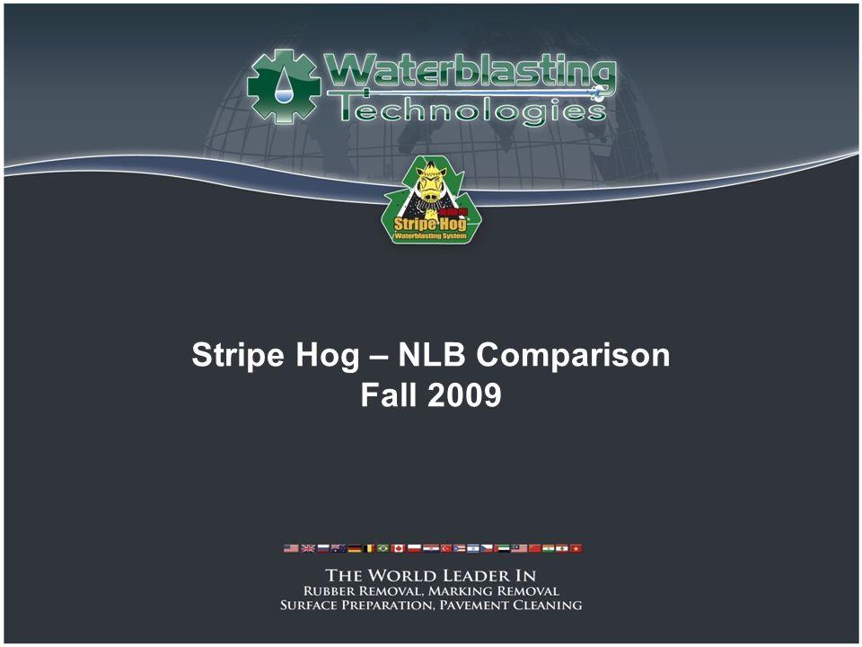 Stripe Hog – NLB Comparison Fall 2009