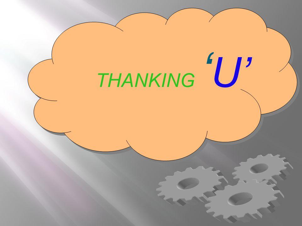 THANKING U