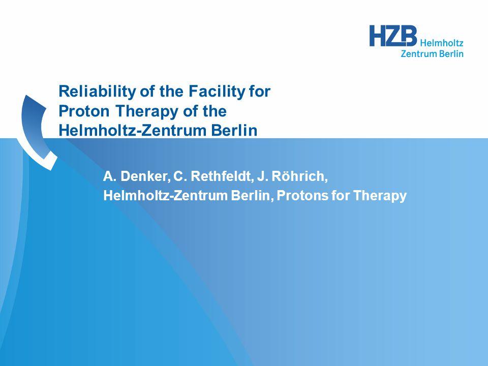 A. Denker, C. Rethfeldt, J.