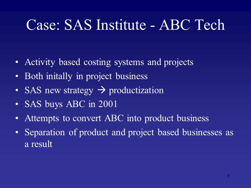 9 Project Marketing vs. Product Marketing