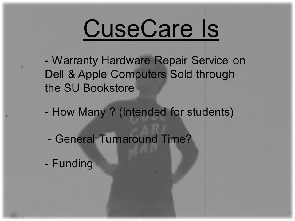 CuseCare Is - How Many .