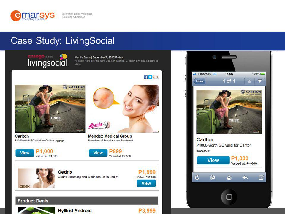 Case Study: LivingSocial