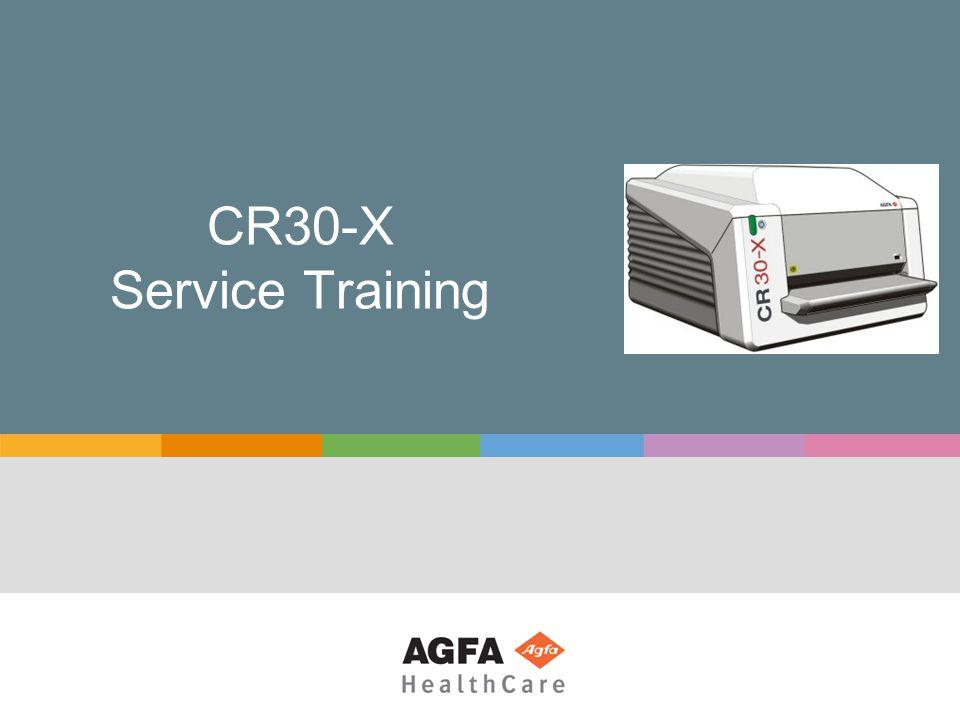 CR30-X Service Training