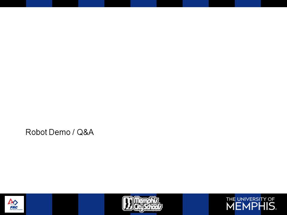Robot Demo / Q&A