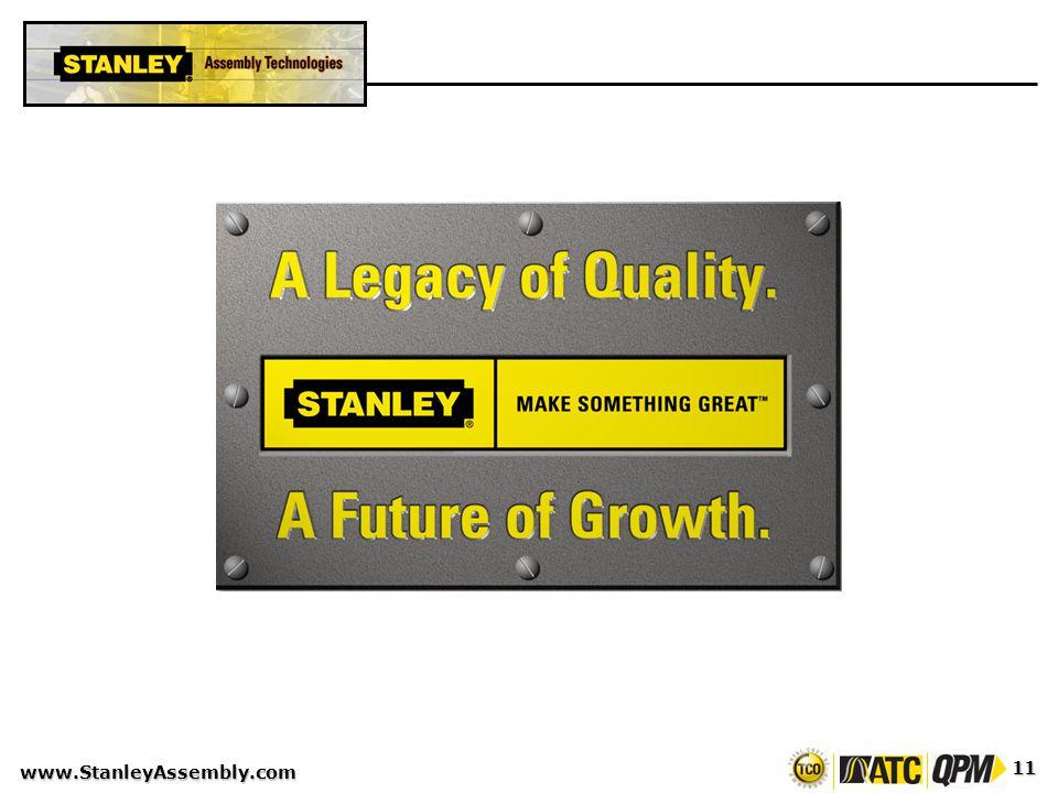 www.StanleyAssembly.com 11