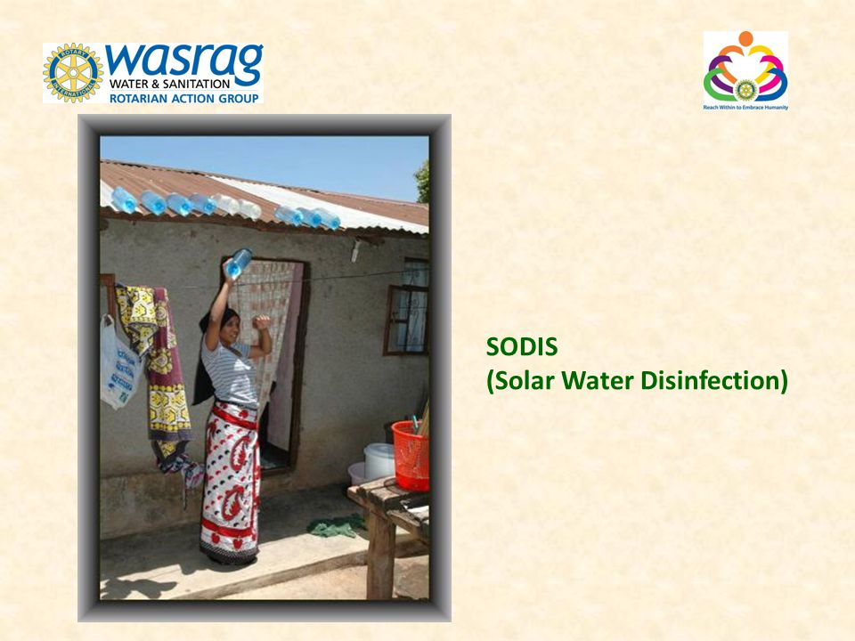 SODIS (Solar Water Disinfection)