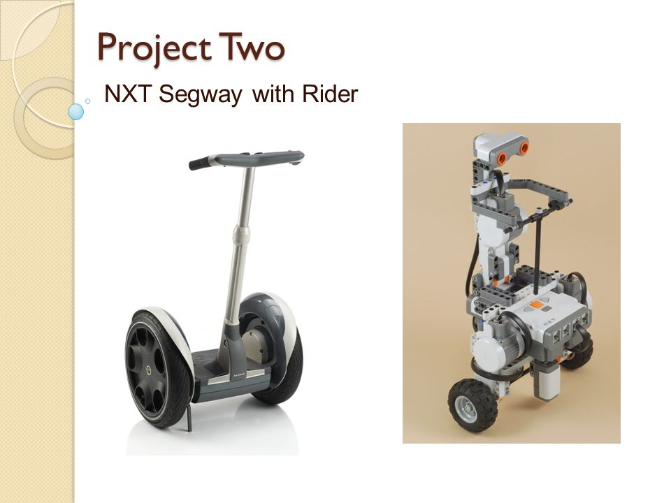 Project Two NXT Segway with Rider