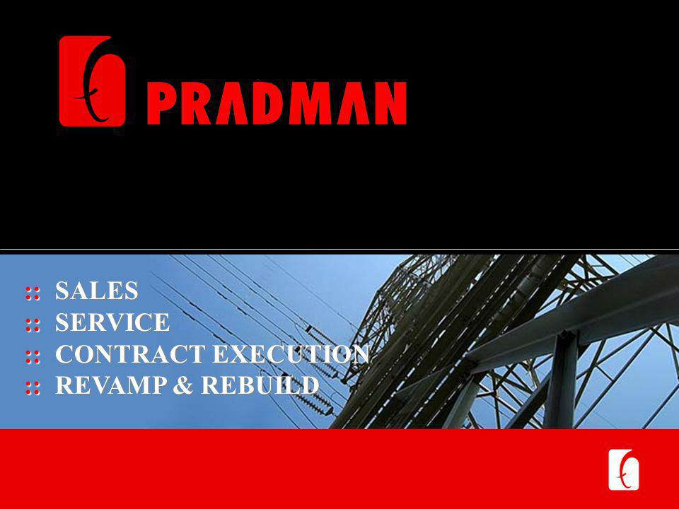 The Pradman Profile Established in 1969 Total Manpower – 108+ Focus Industries Steel, Structural Steel Infrastructure – Transmission Tower Manufacturing, Stringing Machine Tools – Heavy Machine Tools, Plate Bending Pipes & Tubes – CNC Pipe Bending, Profiling Machinery Sales Offices Across India Mumbai (Head Office, Factory, Service, Project Management) Delhi, Kolkata, Bhilai, Hyderabad, Bellary, Vizag, Angol Dealer Network being developed across India Contract Execution Support Detail Engineering, Manufacturing, Supply Chain Management & Services