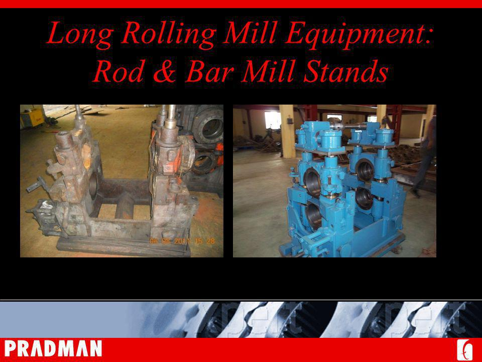 Long Rolling Mill Equipment: Rod & Bar Mill Stands