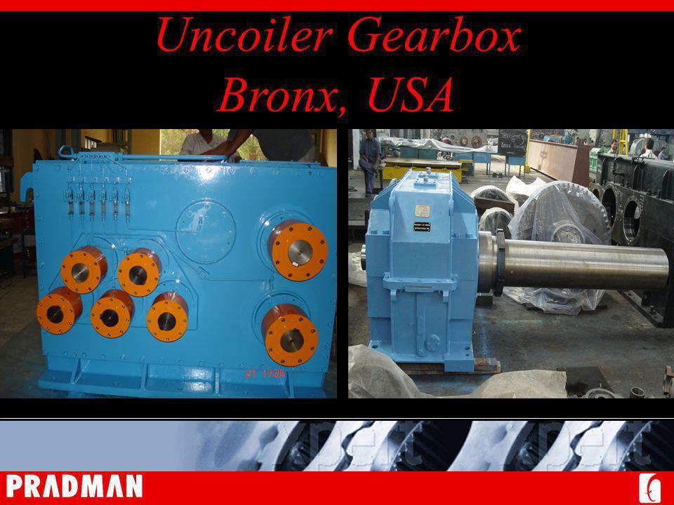 Uncoiler Gearbox Bronx, USA