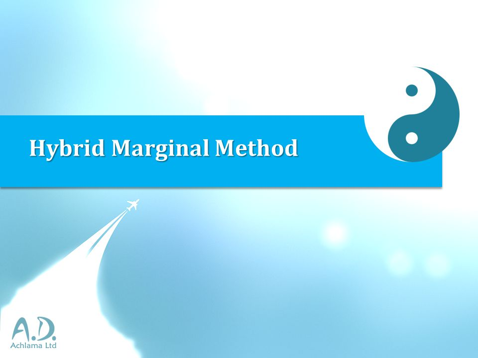 Hybrid Marginal Method