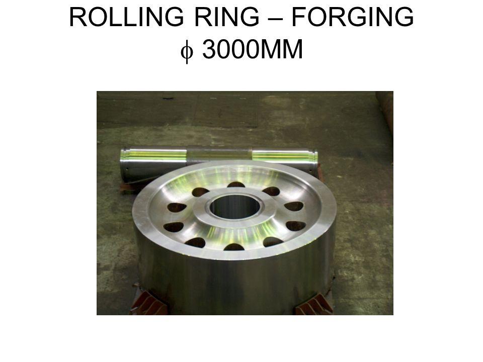 ROLLING RING – FORGING 3000MM
