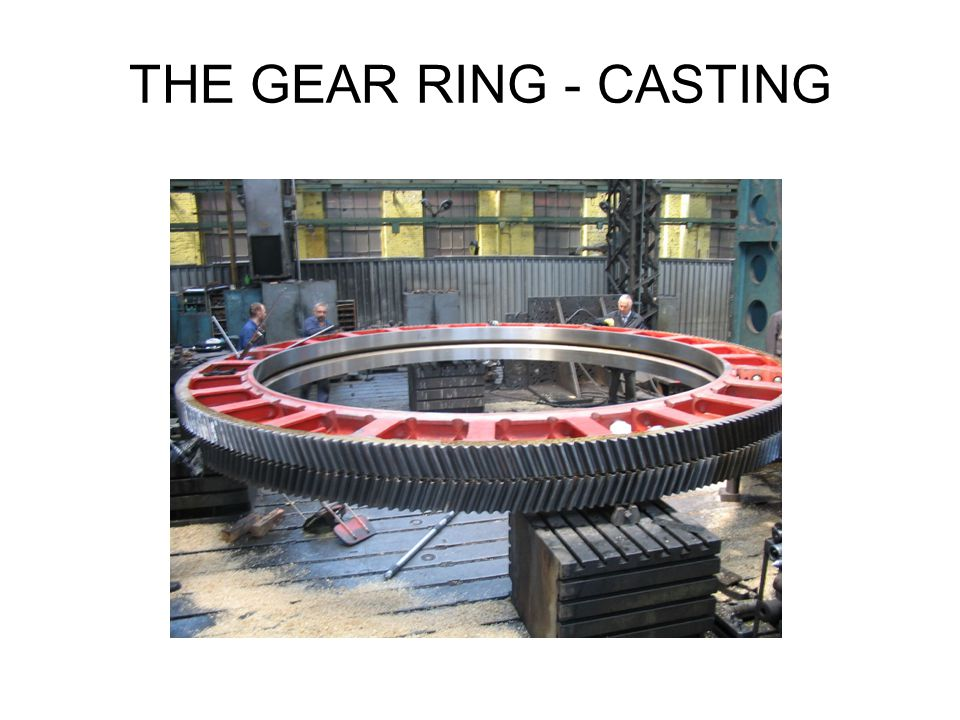 THE GEAR RING - CASTING
